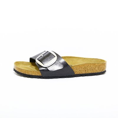 Birkenstock Madrid Big Buckle zwart