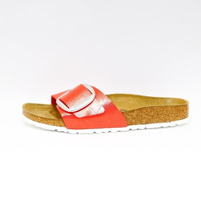 Birkenstock Madrid Big Buckle rood