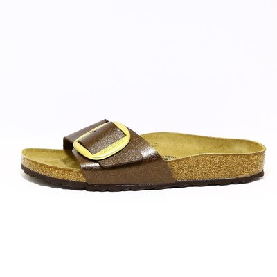 Birkenstock Madrid Big Buckle bruin