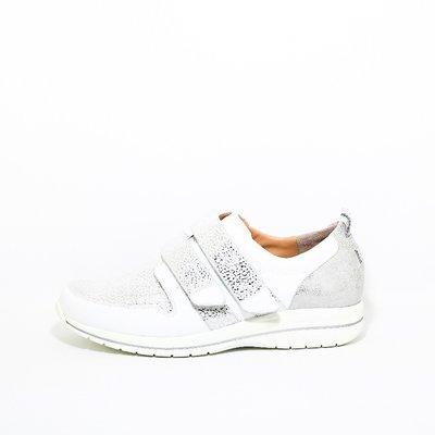 Durea Sneaker klittenband wit