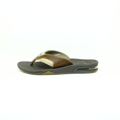Reef Leather Fanning Brown/Brown