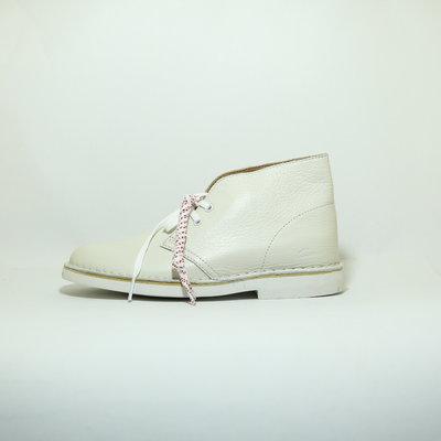 Clarks Desert Boot 2 Women White Leather