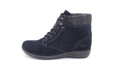 Skoone Enkel schoen blauw