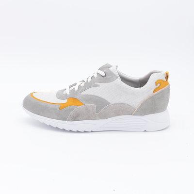 Durea Sneaker Lichtgrijs/Oker