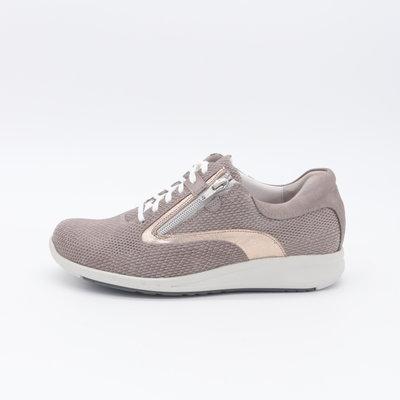 Durea Go Sneaker Taupe met rits