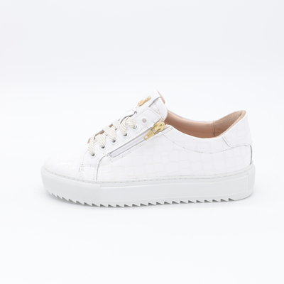 Footnotes Maddy Sneaker Crocolak Wit