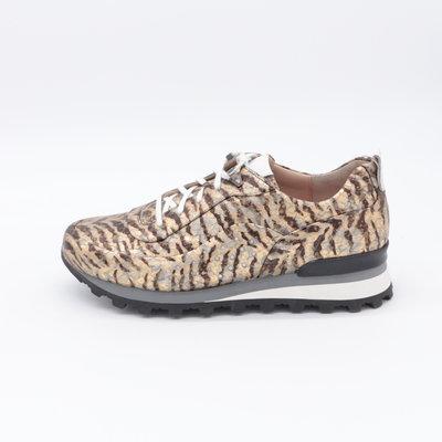 Lerora Sneaker Runner Goud Print Ebano