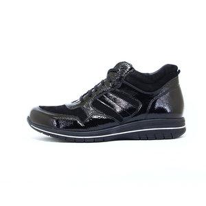 Durea Halfhoge zwarte sneaker