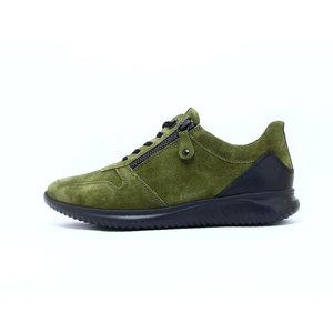 Hartjes Breeze sneaker olijf/zwart