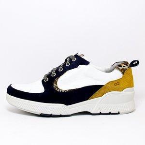 Durea Sneaker Go Marine/Wit/Taupe