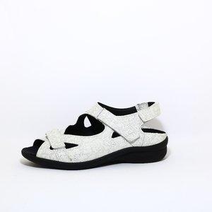Durea Comfort sandaal wit