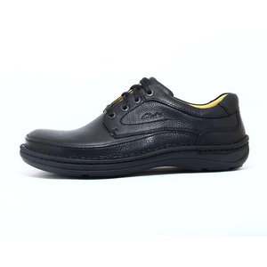 Clarks Nature Three Black Leather