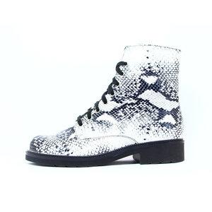 Durea Hippe Boot H-leest Zwart Python