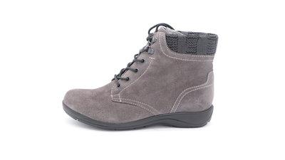 Skoone Enkel schoen grijs