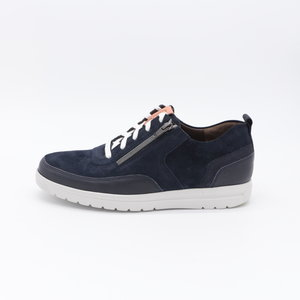Gijs Schoenen Sneaker Blauw Marine met rits