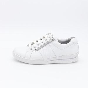 Durea Sneaker Wit met rits