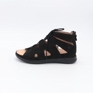 Hartjes Breeze sandaal hoog zwart
