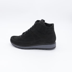 Durea Sneaker EVA Loopzool Mid Zwart
