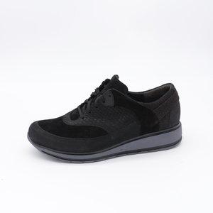 Durea Sneaker EVA Loopzool Laag Zwart