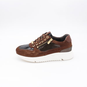 Footnotes Stacy H Sneaker Crocolak Tabacco