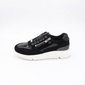 Footnotes Stacy H Sneaker Crocolak Zwart